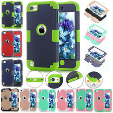 Hybrid Shockproof Rubber Hard Cover Case For iPod Touch 5th 6th Gen Generation