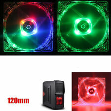 4 Pin 120mm 12V Case CPU Heatsink Cooler Cooling LED Fan for PC Computer Gifts