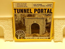 Two Tunnel Portals Woodland Scenics HO Cut Stone Single Tunnel Portals New HO Sc