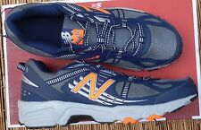 "NEW BALANCE ""MT410NO4"" MENS LITE COOL BLACK MESH TRAIL RUNNING SHOES LIST $60"
