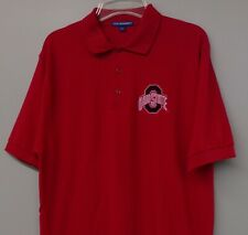 Ohio State Buckeyes NCAA Mens Embroidered Polo Shirt S to 6XL, LT-4XLT New