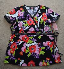 Brand New Koi by Kathy Peterson Womens KATHRYN Scrub Top Size Small or Medium