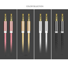 Lot Car 3.5mm Male to Male Aux Auxiliary Cord Stereo Audio Cable for Phone iPod