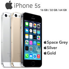 Original Apple iPhone 5S 16/32/64GB Space Grey Silver Gold Unlocked Smartphone