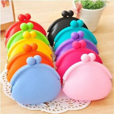 Silicone Round Coin Purse Wallet Card Rubber Key Phone Frog Design Bag Pouch Hot