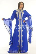 DUBAI VERY FANCY KAFTANS abaya jalabiya Ladies Maxi Dress New Wedding gown 1992