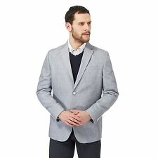 The Collection Mens Grey Linen Blend Blazer Jacket From Debenhams