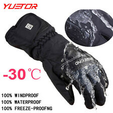 Snowboard gloves for winter men snow windproof ski gloves FREE SHIPPING