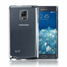 CLEAR CRYSTAL TRANSPARENT BACK PLASTIC CASE COVER FOR SAMSUNG GALAXY NOTE EDGE