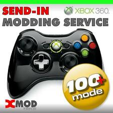 XBOX 360, SEND-IN SERVICE, MODDED CONTROLLER RAPID FIRE MOD KIT @  XMOD 100 MODE