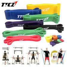 Sport Resistance Bands Exercise Strength Weight Training Fitness Yoga Workout