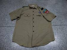 Used USA BOY SCOUTS OF AMERICA Uniform OFFICIAL MENS SHIRT KHAKI Adult X-LG 50""