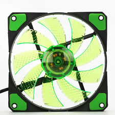 DC 12V 3-Pin/4-Pin 120mm 15 LED Computer PC Case Cooling USB Fan Cooler 4 Colors