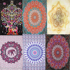 Indian Tapestry Wall Hanging Mandala Psychedelic Hippie Bedspread Bohemian Decor