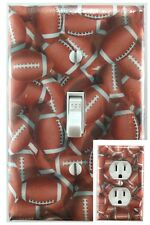 FootBall Sports Decorative Light Switch Cover Outlet Switch Plate
