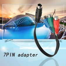 S-Video to 3 RCA RGB Component TV HDTV Cable Connect Your Laptop to HDTV DE