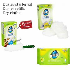 Pledge  Dry Dusting Cloth,Fluffy Dusters, Refill Pack