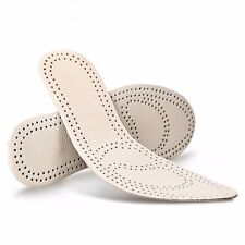 3 Pairs Women Leather Shoe Insole Pad Cushion Sports Odor Eater US 5-9 Beige New