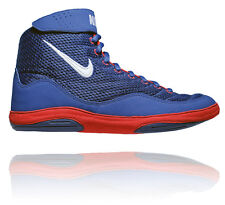 NIKE INFLICT 3 MENS WRESTLING SHOES DEEP ROYAL /WHITE/UNIVERSITY RED