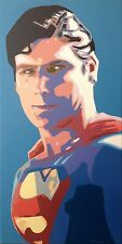 SUPERMAN Movie Christopher Reeve DC Comics DVD 1:6 Figure Toys Poster Art Agapop