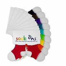 Sock Ons - 0-6 Months - All colours and Packs of 2 - FREE P&P - Fast Dispatch