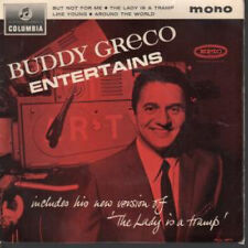 """BUDDY GRECO Entertains 7"""" VINYL UK Columbia 1964 4 Track Featuring But Not For"""
