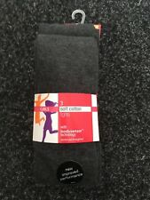 BNWT Marks and Spencers  Girls Grey Soft Cotton Tights. x3. Age 4-14 Years
