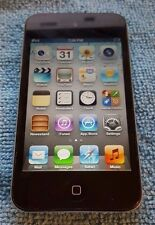 Apple iPod Touch 4th Generation 32GB Black A1367 Good Condition - WORKS GREAT!!