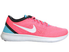 WOMENS NIKE FREE RN RUN RUNNING SHOES TRAINERS RACER PINK / OFF WHITE / CHLORINE