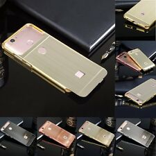 Luxury Brushed Aluminum Metal Frame Hard Phone Case Back Cover For Huawei Nova
