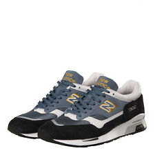 New Mens New Balance  1500 Trainers - Navy/Yellow Classic Traditionnels  Suede