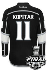 Anze Kopitar Los Angeles Kings 2014 Stanley Cup Patch Reebok Home NHL Jersey