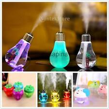 Assorted Car Room Humidifier Oil Aromatherapy Aroma Diffuser Air Purifier