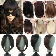 Long Side Bangs Clip In On Real Thick Fringe Bangs Hair Extensions for Discount