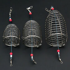 Useful Fishing Lure Cage Fish Bait Lure Fishing Accessories Stainless Steel Wire