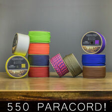 550 Paracord 500ft SPOOL Parachute Cord Rope 7 Strand Survival Outdoor Camping