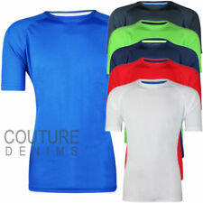 Mens Gym T-shirt Top Boxing Fitness Running Moisture Wicking Training Base Layer
