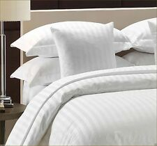 300 Thread Count Satin Stripe 100% Egyptian Cotton Duvet Cover * KING**