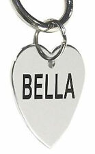 Custom Personalized Stainless Steel Heart Dog Tag Cat Tag Pet ID Tag Name Tag
