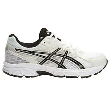 Asics Gel-Contend-3 BOY'S RUNNING SHOES, WHITE/BLACK/SILVER-Size US 1, 2, 3 Or 4