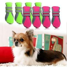Pet Dog Puppy Boots Protectors Water Repellent Anti-Slip Boots Shoes 4 Size