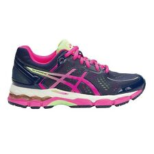 Asics Gel Kayano-22 GIRL'S RUNNING SHOES,NAVY/PINK/WHITE*JP Brand-Size US 6 Or 7