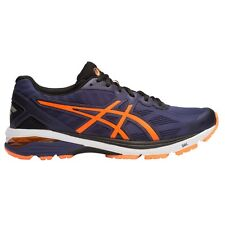 Asics GT 1000-5 MEN'S RUNNING SHOES, NAVY/ORANGE/BLACK - Size US 11.5, 12 Or 13