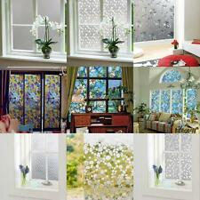 Home Office Window Screen Film Stickers Glass Privacy Frosted Vinyl Sticky Paper