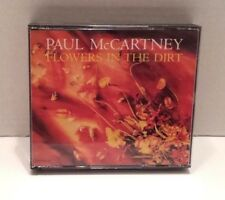 Paul McCartney FLOWERS IN THE DIRT 2 CD'S JAPAN ED w/BOOKLET & 2 Lyric Sheets :)