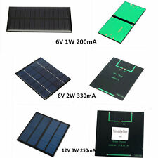 6V/12V 1W 2W 3W Mini Solar Panel Module DIY for Cell Phone Charger DIY Toy