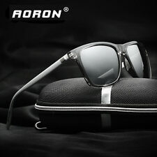 Retro Polarized Sunglasses Men's Driving Mirrored Glasses Outdoor Sports Eyewear