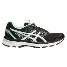 Asics Gel Excite-4 WOMEN'S RUNNING SHOES, BLACK/WHITE/MINT-Size US 7.5, 8 Or 8.5
