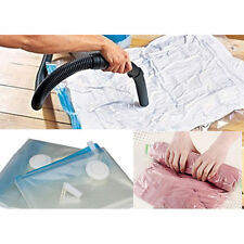 CLEAR VACUUM STORAGE BAG COMPRESSED BAG SPACE SAVED SEAL COMPRESSION USEFUL