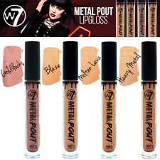 W7 Cosmetics - Metal Pout Metallic Matte Liquid Lip Gloss Shades 4 Colours